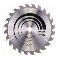 Πριονόδισκος Optiline Wood 184 x 16 mm 24 Δοντιών BOSCH 2608640817