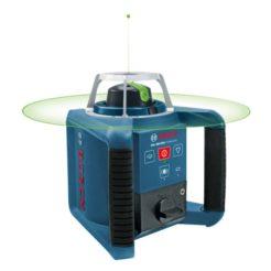BOSCH 0601061701 GRL 300 HVG Professional Σετ (RC 1 + WM4 + LR 1G) Αλφάδι Laser Περιστροφικό Πράσινης Δέσμης