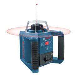 BOSCH 0601061501 GRL 300 HV Professional Σετ (RC 1 + WM4 + LR 1) Αλφάδι Laser Περιστροφικό Κόκκινης Δέσμης