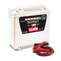 TELWIN TOURING 11 Φορτιστής - Συντηρητής Αυτόματος Μπαταρίας 6V/12V (807591)