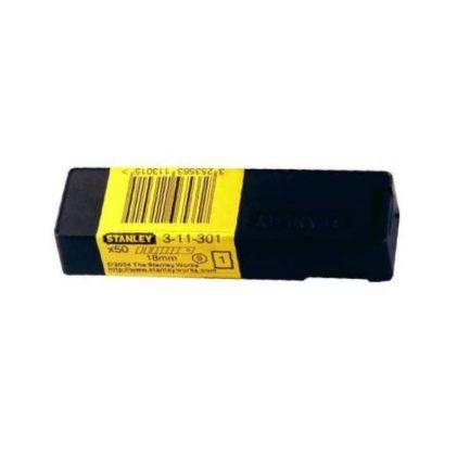 STANLEY 311301 Λάμα Σπαστή Μαχαιριών Σετ 50τμχ 18mm