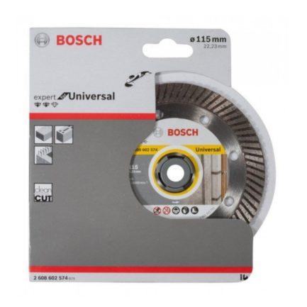 Διαμαντόδισκος Κοπής Μπετού 115mm Expert for Universal Turbo BOSCH 2608602574