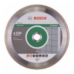 Διαμαντόδισκος Κοπής Πλακιδίων 230mm BOSCH 2608602205