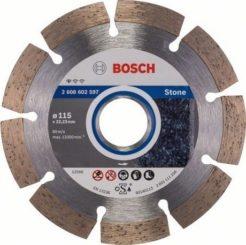 Διαμαντόδισκος Κοπής Πέτρας 115mm Standard for Stone BOSCH 2608602597