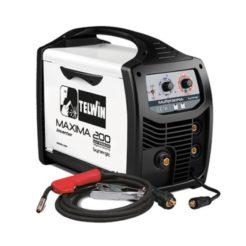 TELWIN SYNERGIC MAXIMA 200 Ηλεκτροκόλληση 4 ΣΕ 1 MIG-TIG-MMA-FLUX 170A (816087)