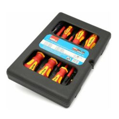 HILKA 34489008 Κατσαβίδια Ηλεκτρολόγου Ίσια και Phillips με Μόνωση Σετ 8τμχ