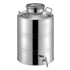 METALBOX Δοχείο Inox 30 Lt Με Βιδωτό Καπάκι (38B18030)