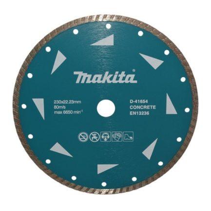 MAKITA D-41654 Διαμαντόδισκος Κοπής Δομικών Υλικών Φ 230mm Οπή 22,23mm