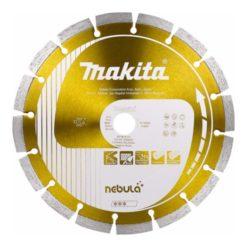 MAKITA B-54025 Nebula Διαμαντόδισκος Δομικών Υλικών Φ230mm Οπή 22,23mm