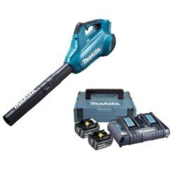 MAKITA DUB362Z/KIT Φυσητήρας Μπαταρίας 18V + Δώρο Βαλίτσα με 2 Μπαταρίες 18V/5Ah και Φορτιστή