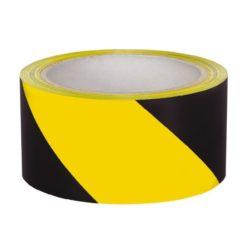 HPX 503300122 Ταινία Αυτοκόλλητη Σημάνσεως Κίτρινο/Μαύρο 50mm x 33mm 20m