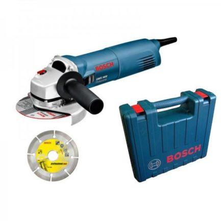 BOSCH GWS 1400 0601824900 Γωνιακός Τροχός 125mm 1400W+ Διαμαντόδισκος + Βαλίτσα