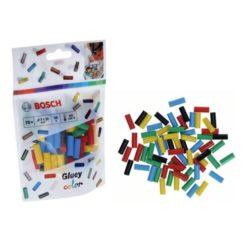BOSCH 2608002005 Ανταλλακτικά Φυσίγγια Mini-Sticks Θερμαινόμενης Σιλικόνης Χρωματιστά 20mm για GLUEY PEN