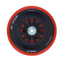 BOSCH 2608601569 Πέλμα Τριβείου Πολλαπλών Οπών Ημίσκληρο Velcro Φ150mm