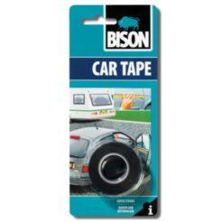 BISON 66398 Car Tape Ταινία 19mm Διπλής Όψης Αυτοκινήτου Μαύρη 1,5m
