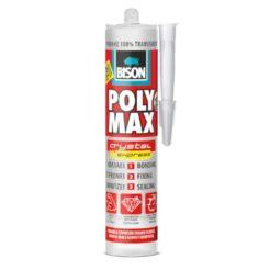 BISON 20982 Polymax Σιλικόνη Διάφανη 280ml