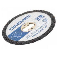 DREMEL SC476 Speedclick Δίσκοι Κοπής Πλαστικού 38mm Σετ 5τμχ (2615S476JB)