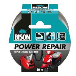 BISON 26196 Power Repair Τανία Υφασμάτινη Επισκευαστική Γκρι 10m