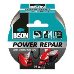 BISON 26200 Power Repair Ταινία Υφασμάτινη Επισκευαστική Γκρι 25m