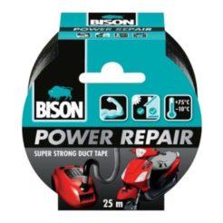 BISON 26208 Power Repair Ταινία Υφασμάτινη Επισκευαστική 25m Μαύρη