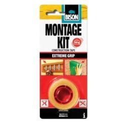 BISON 27106 Ταινία Διπλής Όψης Montage Kit 1,5m x 19mm
