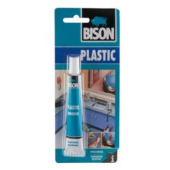 BISON 66408 Κόλλα για σκληρά πλαστικά PVC 25ml