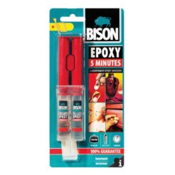 BISON 66638 Epoxy 5min Κόλλα 2 Συστατικών Σύριγγα24ml