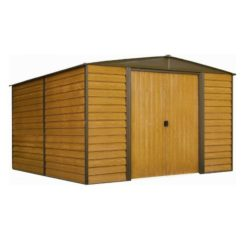 ARROW WOODRIDGE WR1012 Αποθήκη Κήπου Μεταλλική 10x12 313x370x209