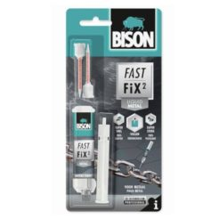 BISON 27532 Fast Fix² Liquid Metal Κόλλα Δύο Συστατικών για Μέταλλα 10gr