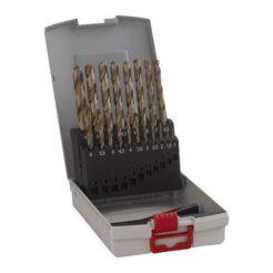 BOSCH 2608587014 Τρυπάνια HSS Κοβαλτίου για Μέταλλο Σετ 19τμχ 1-10mm