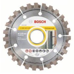 BOSCH Best for Universal Διαμαντόδισκος Κοπής Δομικών Υλικών Φ115mm (2608603629)