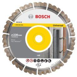 BOSCH Best For Universal Διαμαντόδισκος Δομικών Υλικών 230mm (2608603633)