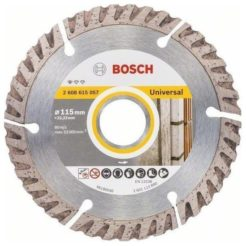 BOSCH Standard For Universal Διαμαντόδισκος Κοπής Δομικών Υλικών Φ115mm (2608615057)