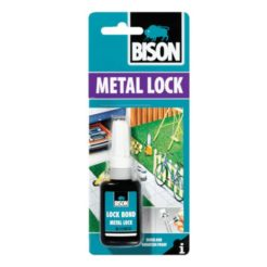 BISON 66473 Metal Lock Κόλλα - Ασφαλιστικό Σπειρωμάτων 10ml