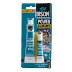 BISON 66633 Power Adhesive Κόλλα Πολυουρεθάνης 2 Στοιχείων 65ml