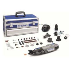 DREMEL 8220-5/65 Πολυεργαλείο Μπαταρίας 12V με 65 Εξαρτήματα & 5 Προσαρτήματα σε Βαλίτσα (F0138220JK)
