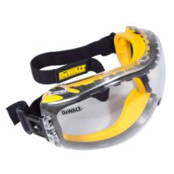 DEWALT DPG82-11D Μάσκα Προστασίας Κλειστού Τύπου Clear Concaler Αντιθαμβωτική