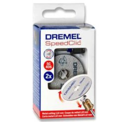 DREMEL SC406 Speedclick Starter Pack Στέλεχος και Δίσκοι Κοπής Σετ 2τμχ (2615S406JC)