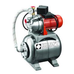 KRAFT 43532 Πιεστικό Συγκρότημα με Δοχείο Inox 1,3hp 1000W