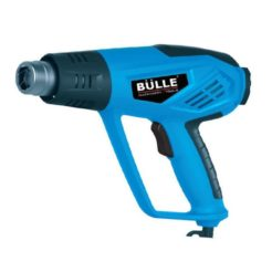 BULLE JS-HG12D Πιστόλι Θερμού Αέρα 2000W με Οθόνη LCD και Βαλίτσα με Εξαρτήματα (63422)