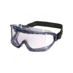 OEM 166-F Γυαλιά Μάσκα Προστασίας Φιμέ με Λάστιχο