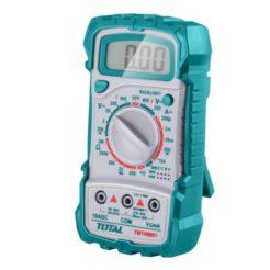 TOTAL TMT46001 Πολύμετρο Ψηφιακό με Μνήμη 2000 Μετρήσεων