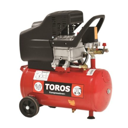 TOROS TM 24/2.5 Αεροσυμπιεστής Μονομπλόκ Λαδιού 2.5Hp 24L (40137)