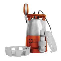 KRAFT 43515 Υποβρύχια Αντλία 3 Λειτουργιών- Χαμηλού προφίλ 1mm- Ομβρίων Υδάτων- Ακάθαρτων Υδάτων 400W