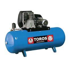 TOROS N6-500F-7.5T Blue Line Αεροσυμπιεστής Επαγγελματικός Με Ιμάντα Τριφασικός 7,5Hp 500Lt (602013)