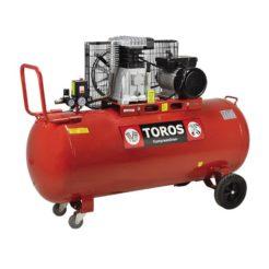 TOROS DH-30150/10 Αεροσυμπιεστής Επαγγελματικός Με Ιμάντα 3Hp 150Lt (602039)