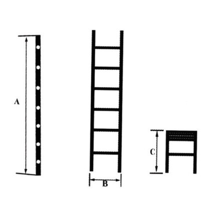 BULLE PA13 631152 Σκάλα Αλουμινίου Μονή Τηλεσκοπική με 13 Σκαλιά