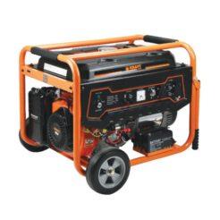 KRAFT LT-9000 Γεννήτρια Βενζίνης Τετράχρονη 439cc - 7000W Ηλεκτρικής Εκκίνησης Με Ρόδες (63727)