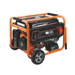 KRAFT LT-9000-3 Γεννήτρια Βενζίνης Τετράχρονη 439cc - Τριφασική 7000W(400V) Ηλεκτρικής Εκκίνησης Με Ρόδες (63736)