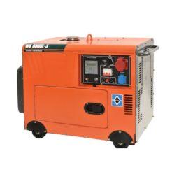 KRAFT WS 8500L-3 Γεννήτρια Πετρελαίου Τριφασική Κλειστού Τύπου 6000W 498cc με Μίζα & ATS (63772)